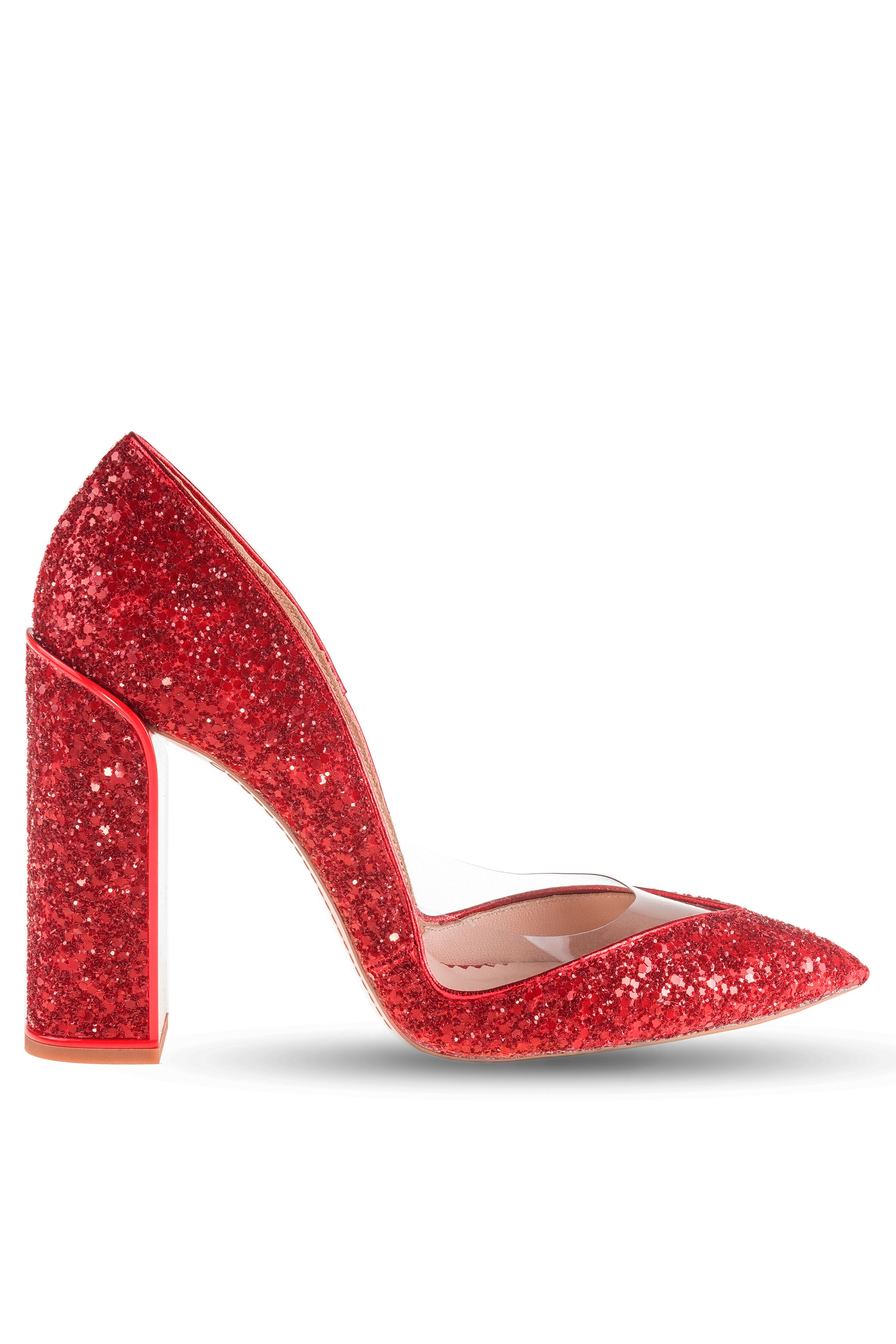 Product Details Red Glitter Vision Pumps Mihaialbucom Fashion Shoes Gliter Heels Romanian Designer Online Store